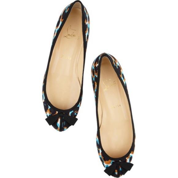 Christian Louboutin Shoes - Christian Louboutin Balindono Leopard Flats